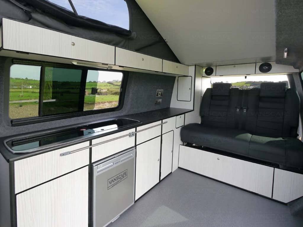 Vw Campervan Accessories >> With several options the Scafell conversion is a popular choice