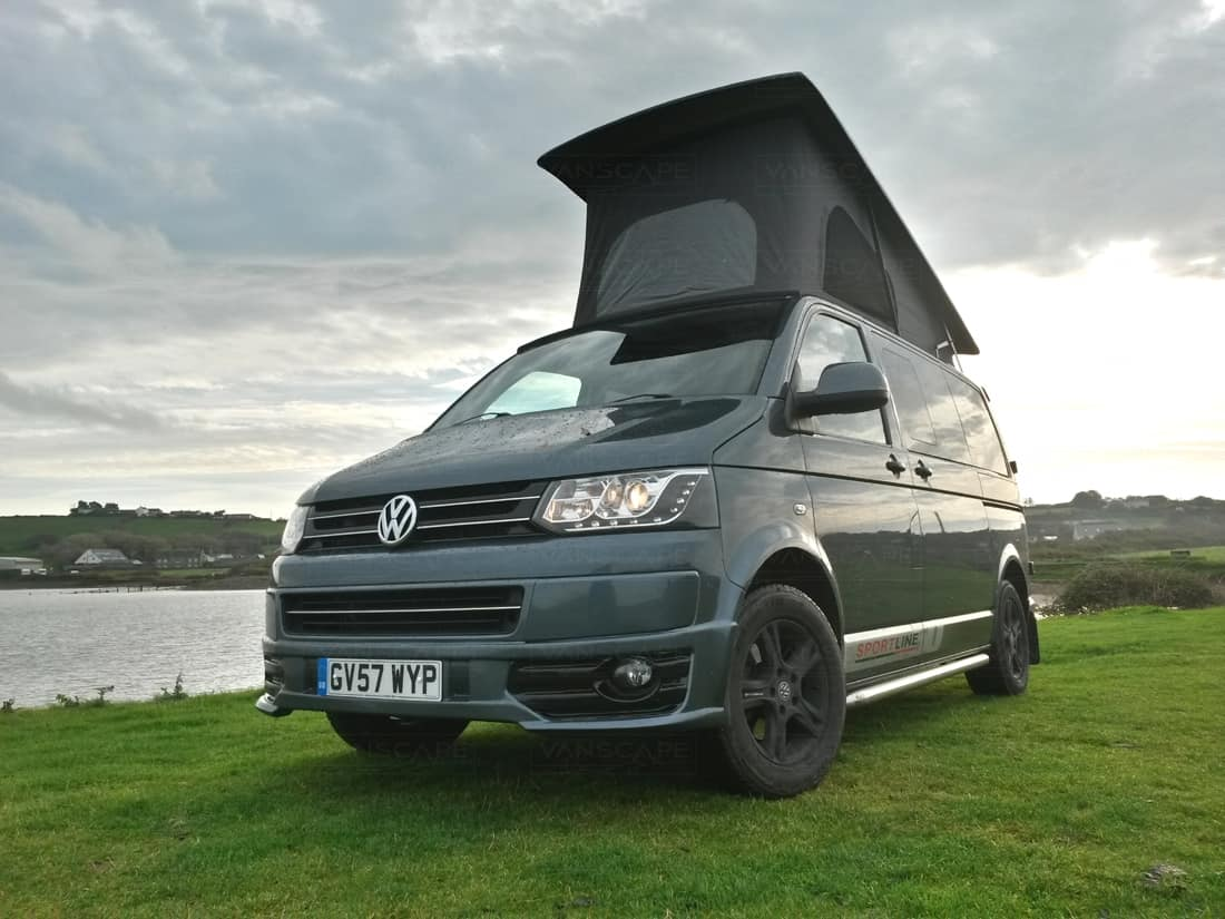 2007 metallic grey vw t5 vanscape. Black Bedroom Furniture Sets. Home Design Ideas
