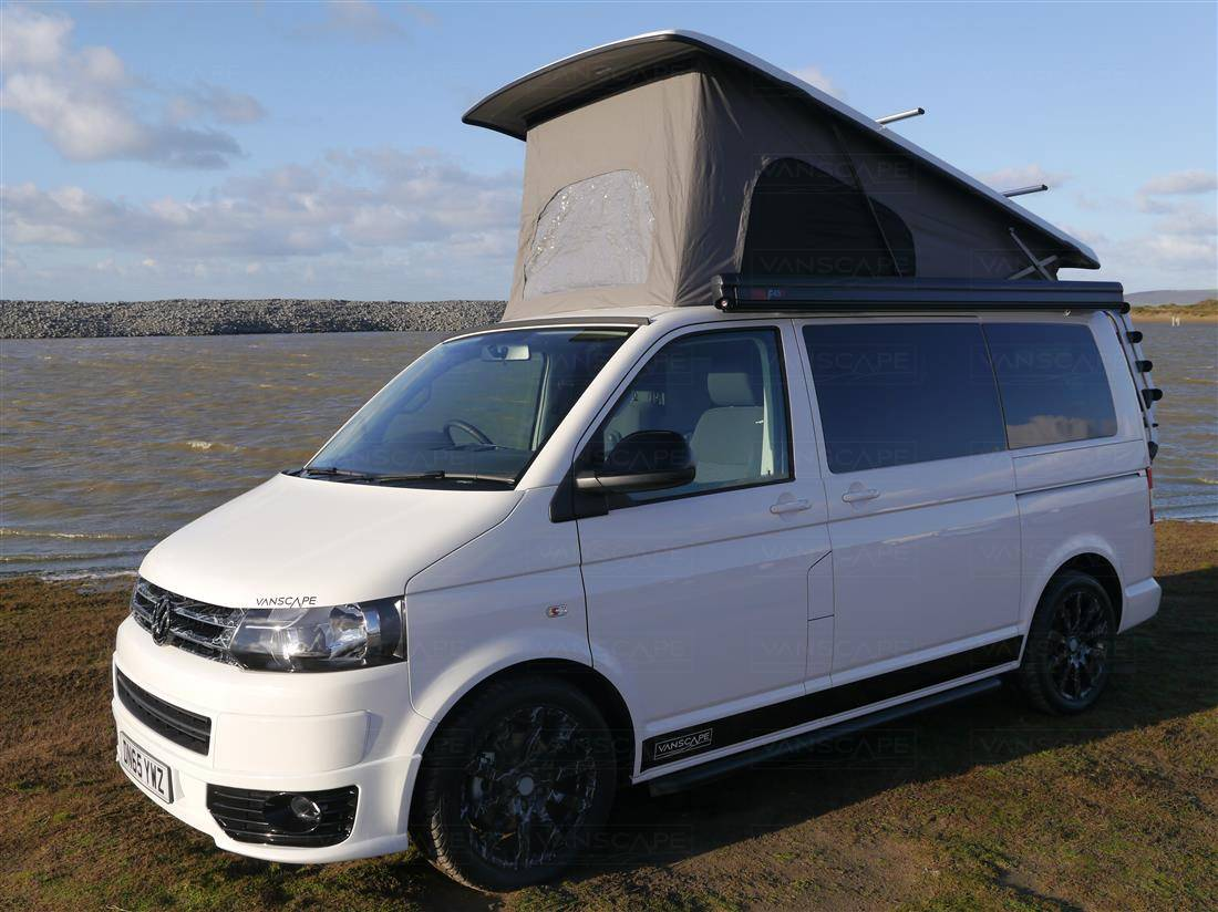 65 PLATE CANDY WHITE HIGHLINE VW T5 GP