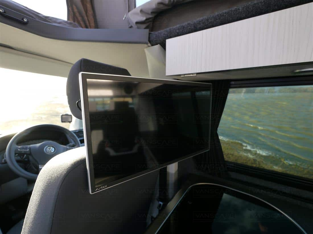 Camper van conversions TV/DVD player