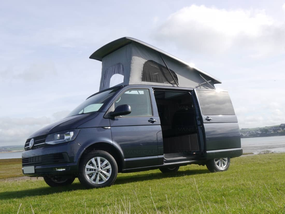 brand new vw t6 highline euro 6 150bhp starlight blue. Black Bedroom Furniture Sets. Home Design Ideas