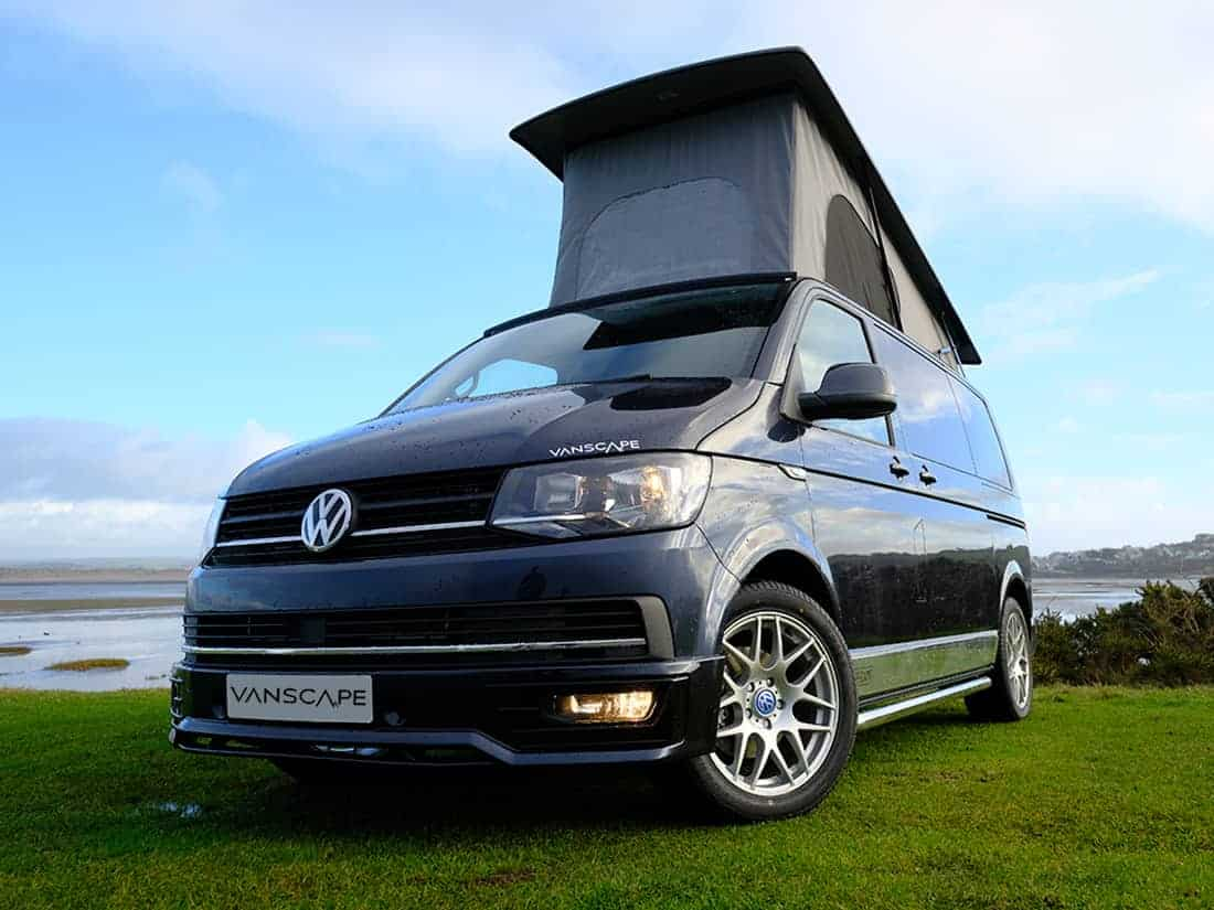 brand new vw t6 highline euro 6 150bhp starlight blue metalic with only delivery mileage and. Black Bedroom Furniture Sets. Home Design Ideas