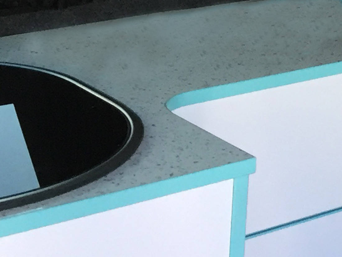 Sparkle White Worktop