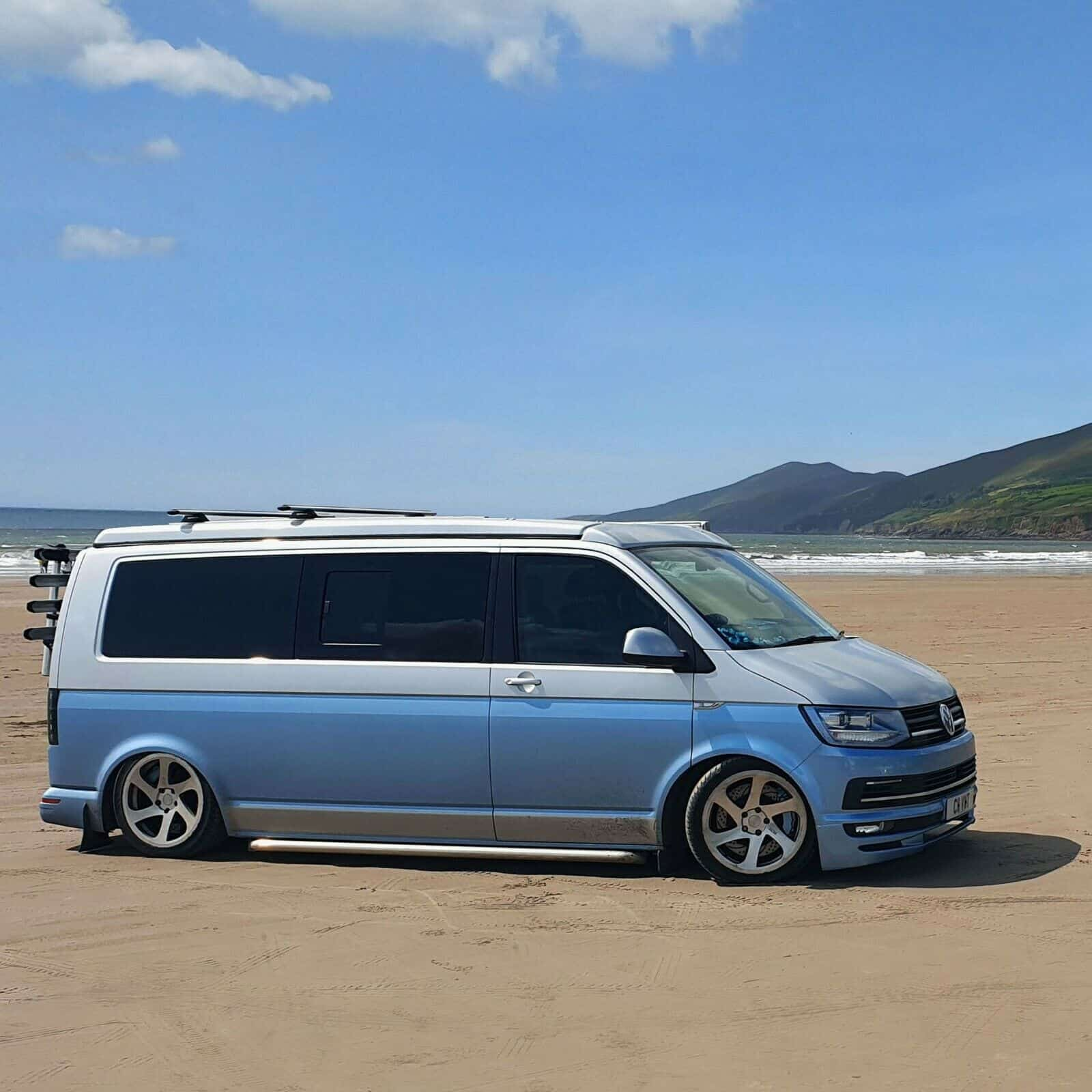 VW T6 Campervan custom camper roof rack bike rack for sale