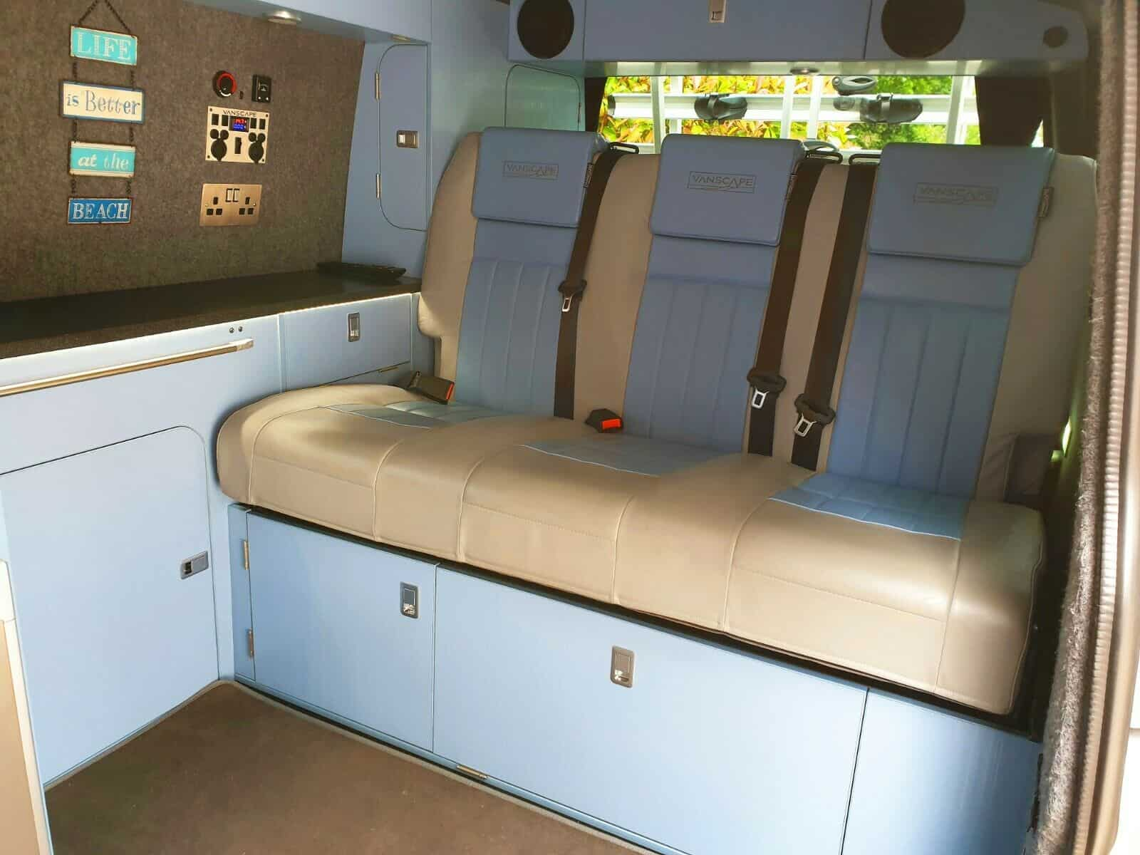 12v electrics custom rear seats lockers cabinets cnc
